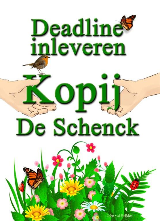 Deadline kopij Schenck